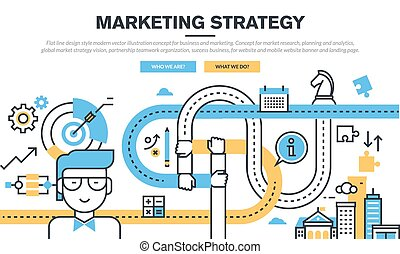 Concept for business and marketing