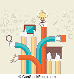 Concept for creative design process