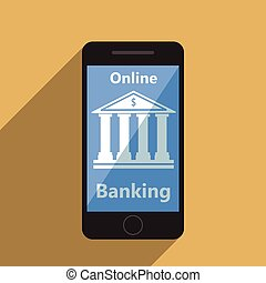 Concept for mobile banking and online payment