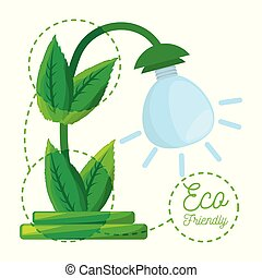 concept for save energy protecting the planet