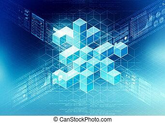 concept, gegevensverwerking