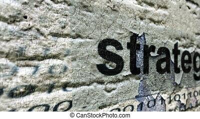 concept, grunge, stratégie