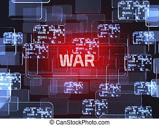 concept, guerre