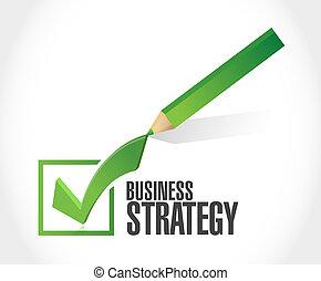 concept, handel strategie, mark, meldingsbord, controleren