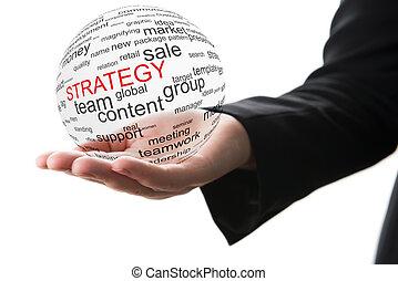 concept, handel strategie