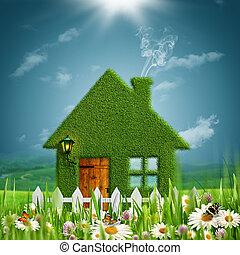 concept, herbeux, beauté, eco, résumé, arrière-plans, farm.,...