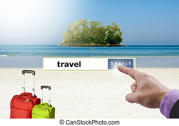 concept holiday travel