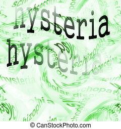 concept hysteria background  ( conversion disorder )