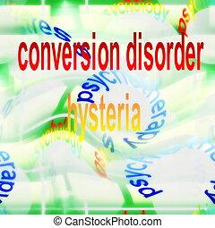 concept hysteria background