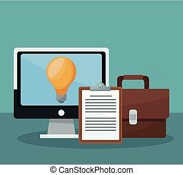concept, idées, business