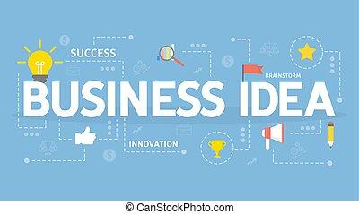 concept., idea, affari