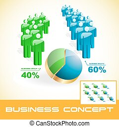 concept, illustration., business