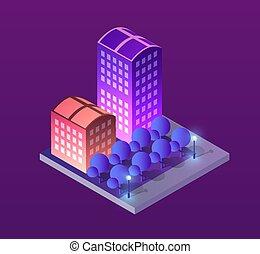 Concept illustration city