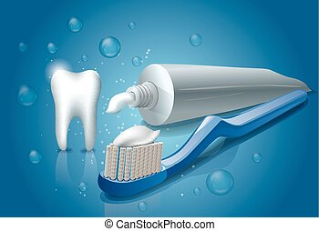 healthy cleaning toothpaste