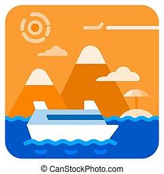 sea travel cruise