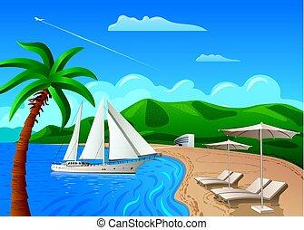 travel and resort journe