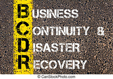 Business Acronym BCDR
