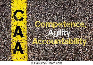 Business Acronym CAA