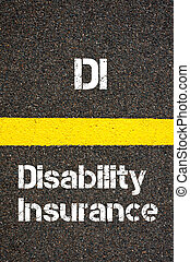 Business Acronym DI Disability Insurance