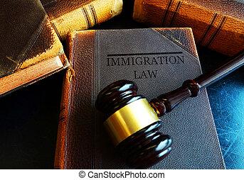 concept, immigration, droit & loi