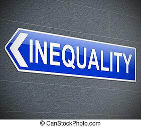concept., inégalité