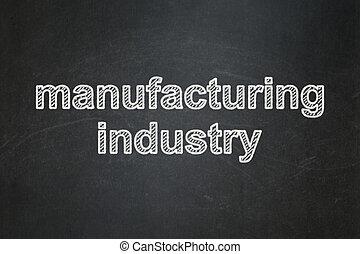 concept:, industria, manifatturiero, lavagna, fondo