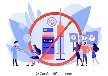 concept, inenting, illustration., weigering, vector