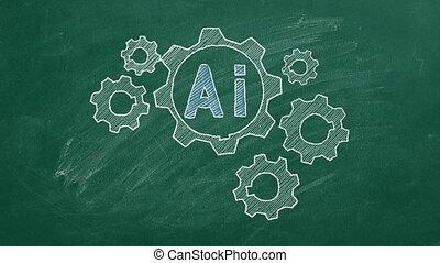 concept, intelligence artificielle