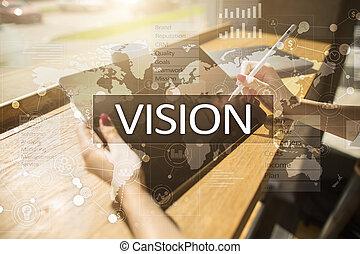 concept., internet handlowy, widzenie, technologia