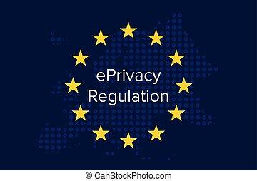 concept, intimité, règlement, communications, règlement, proposition, eprivacy, électronique