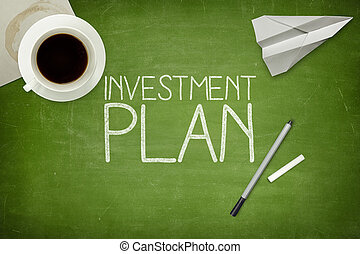 concept, investering, plan