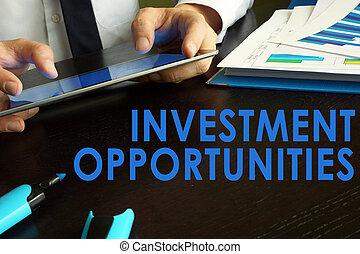 concept., investimento, opportunità