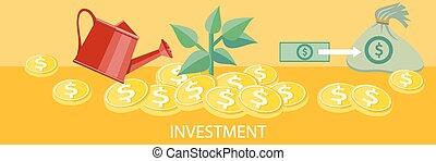 concept, investissement
