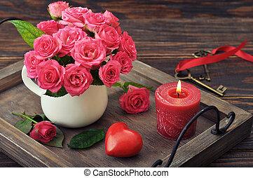 concept, jour, valentin