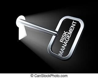 concept:, kierownictwo, finanse, klucz, ryzyko