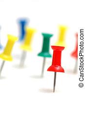 """concept, kleur, \""""stand, spelden, crowd\"""", uit"""