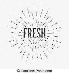 concept, kunst, abstract ontwerp, label, communie, mal, web, opmaak, card., identiteit, vrijstaand, creatief, achtergrond, retro, logo, badge, text., etiketten, pictogram, beweeglijk, inkt