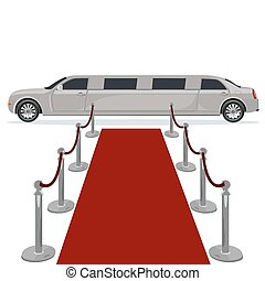 concept, limousine, moquette rouge