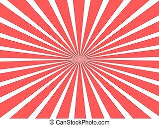concept, linten, circus, rood, circulaire