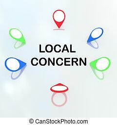 concept, local, inquiétude