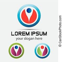 Concept logo symbol illustration