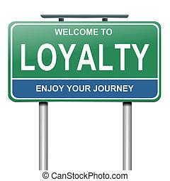 concept., lojalitet