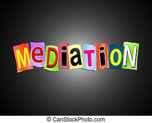 concept., médiation