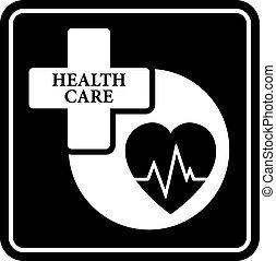 concept médical, icône