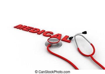 concept médical, services médicaux