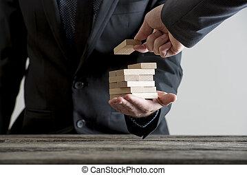 concept., management, zakelijk