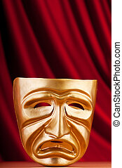 concept, maskers, theater