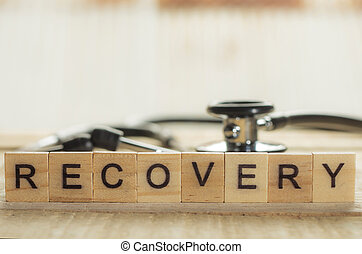 concept, medische gezondheid, herstel, care