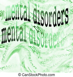 Concept Mental disorders