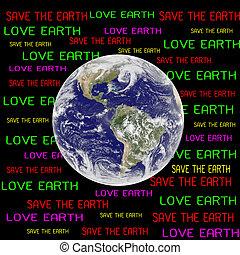 concept, meublé, ceci, nasa), (elements, la terre, sauver, image